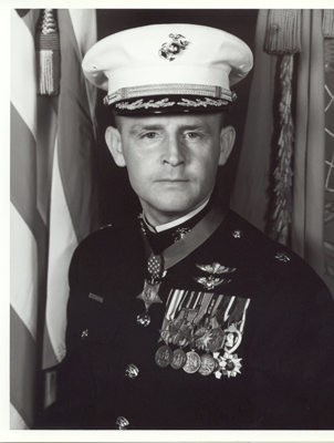 Vietnam War Congressional Medal of Honor Recipient Major Stephen W. Pless, USMC